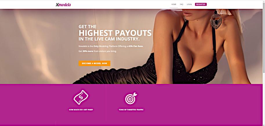 Xcams model jobs